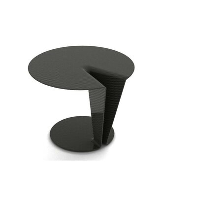 Carbon Orbit End Table Color: Carbon Fiber