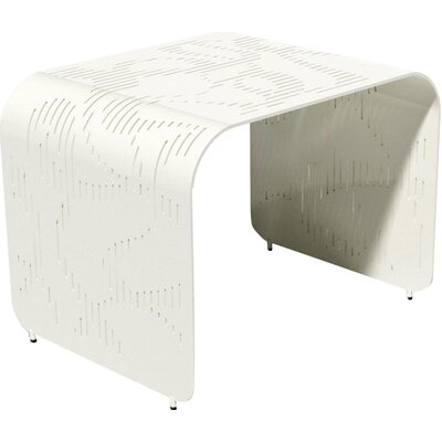 Botanist Orikami Side Table by Karim Rashid Finish: Cream Soda