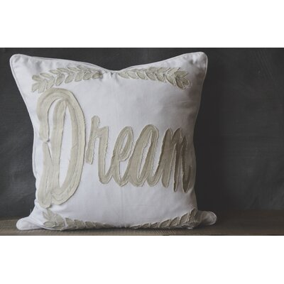 Patina Vie Dream 100% Cotton Throw Pillow