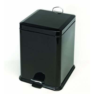 Cook Pro 5.28-Gallon Stainless Steel Square Trash Can