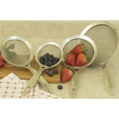 Professional 4 Piece Strainer Sink Grid Set