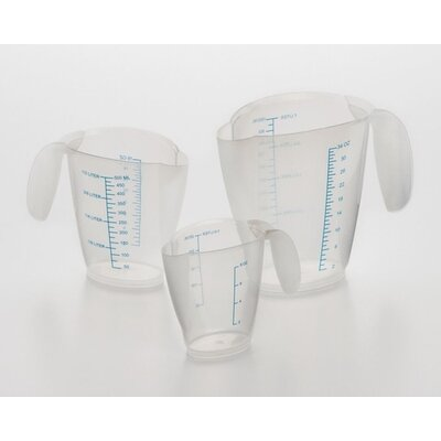 3-Piece Plastic Measuring Cup Set 606
