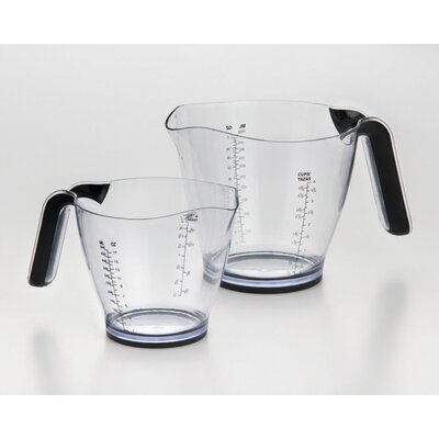 2-Piece Plastic Measuring Cup Set 607