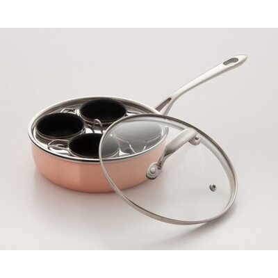 4 Cup Stainless Steel Nonstick Egg Poacher 532A