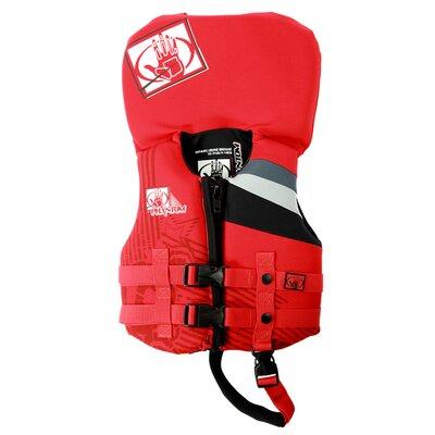 Image of Body Glove Phantom Infant Neo PFD Color: Red/Black (12224I-RB)