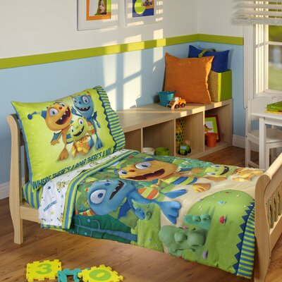 Henry Hugglemonster 4 Piece Toddler Bedding Set 4045416