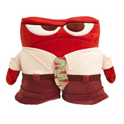 Inside Out Anger Pillow