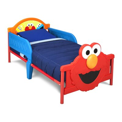 Sesame Street 3D Plastic Toddler Bed BB87149SS