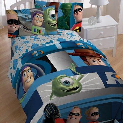 Pixar Filmstrip Twin Comforter
