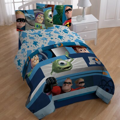 Pixar Filmstrip Twin Sheet Set