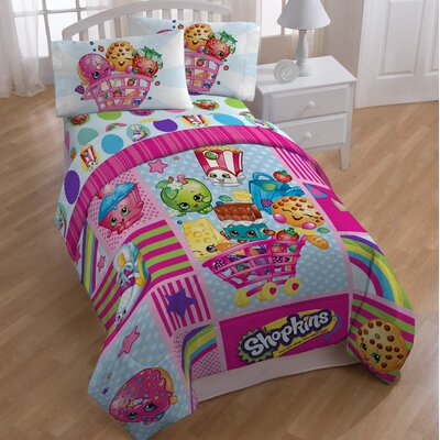 Shopkins Patchwork All Season Comforter