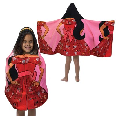 Elena of Avalor Hooded Bath Towel
