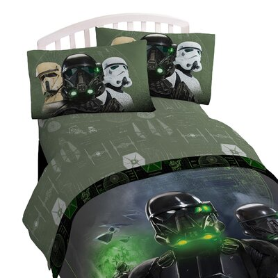 Star Wars Rogue One Imperial 3 Piece Deep Pocket Sheet Set