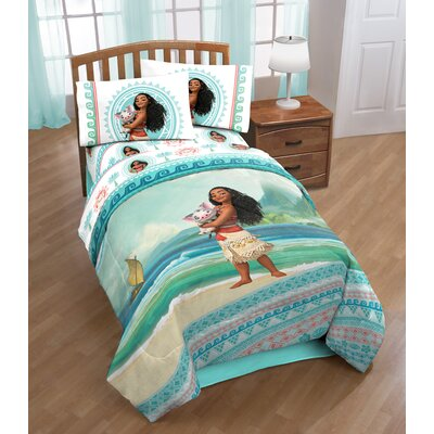 Moana The Wave Twin Comforter