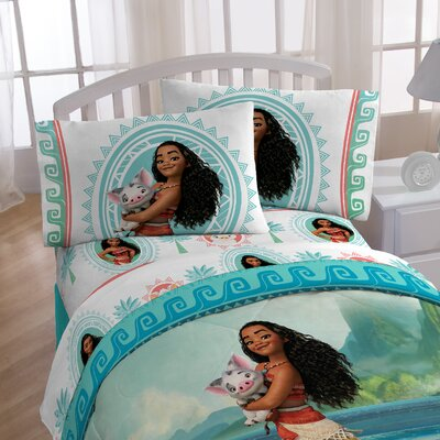 Moana The Wave Twin Sheet Set