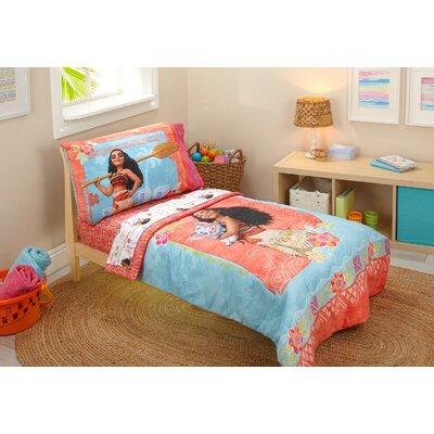 Moana 4 Piece Toddler Bedding Set 7309416