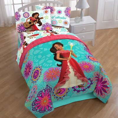 Elena of Avalor Magic 5 Piece Twin Bed-In-A-Bag Set
