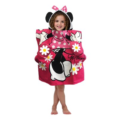 Minnie Pocket Frenz Hooded Beach Towel