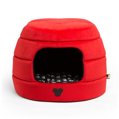 Mickey Mouse 2-in-1 Honeycomb Hut Cuddler Dome Size: Small - 17 L x 14 W