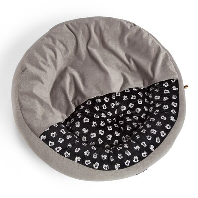 Disney Mickey Mouse Cozy Cuddler Dog Bed/Cat Bed Size: Small - 22 L x 22 W, Color: Gray