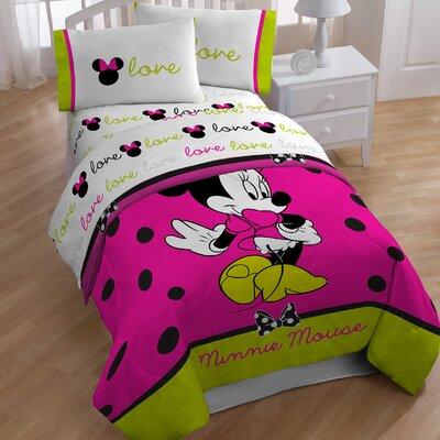 Minnie 4 Piece Toddler Bedding Set JF28862WFML