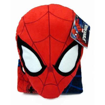 Nogginz Marvel Spiderman Pillow and Blanket Set JF16827WFML