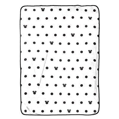 Minnie Mouse Dots Blanket