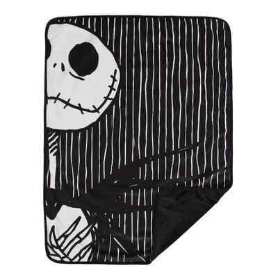 Nightmare Before Christmas Jack Skellington and Sally Pet Throw Blanket DIS-PTB-NBC-JST-3040