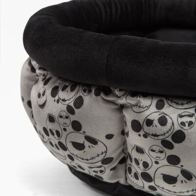 Nightmare Jack Skellington Cuddle Cup Bolster Size: 24 W x 24 D x 10 H