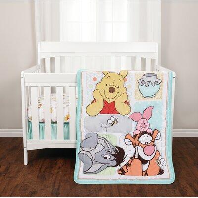 Winnie the Pooh 3 Piece Crib Bedding Set 37900-311-CRST-POOH