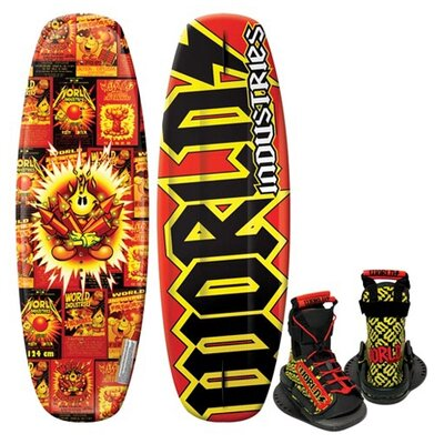 Image of World Industries World Industries Fireworks Wakeboard with DC Binding (WIW-1014)