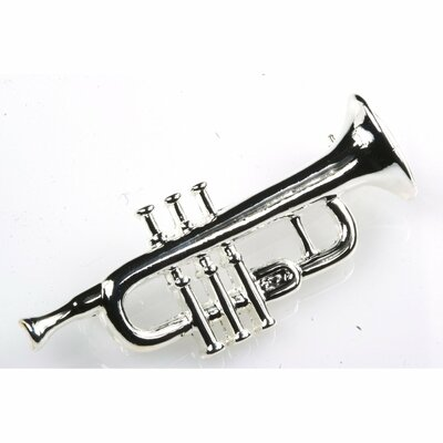 Trumpet Stick Pin in Silver