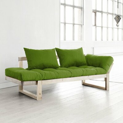 Futon and Mattress Finish: Green/Natural