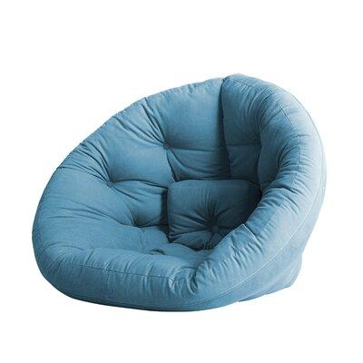 Nido Futon Chair Color: Horizon Blue