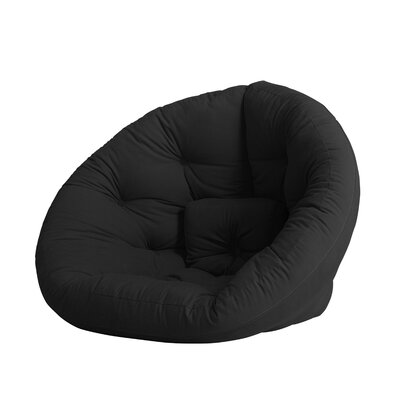 Nido Futon Chair Color: Black