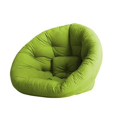 Nido Futon Chair Color: Lime