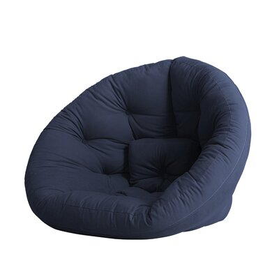 Nido Futon Chair Color: Navy