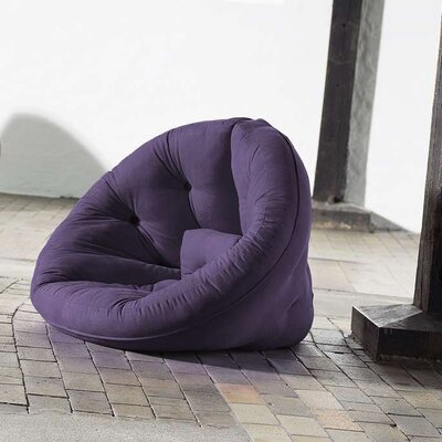 Nido Futon Chair Color: Purple