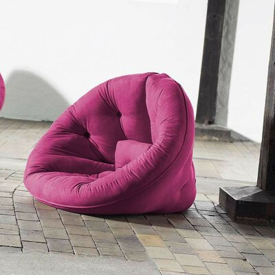 Nido Futon Chair Color: Pink