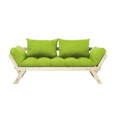 Bebop Futon and Mattress Finish: Lime