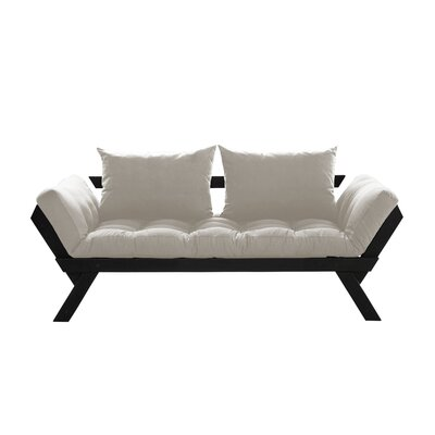 Bebop Futon and Mattress Finish: Black/Natural