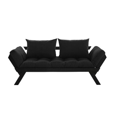 Bebop Futon and Mattress Finish: Black