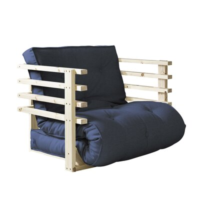 Funk Futon Chair Upholstery: Navy
