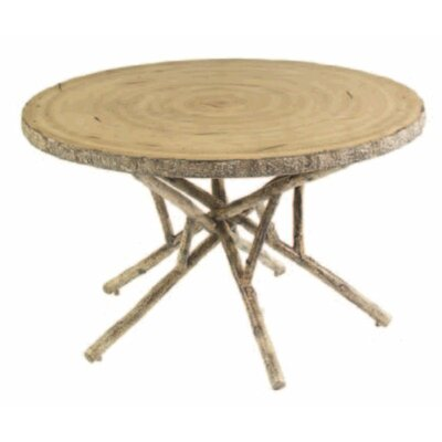 River Run Round Birch Heartwood Dining Table