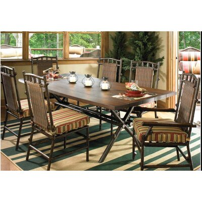 Chatham Rectangular Dining Table with Faux Wood Top