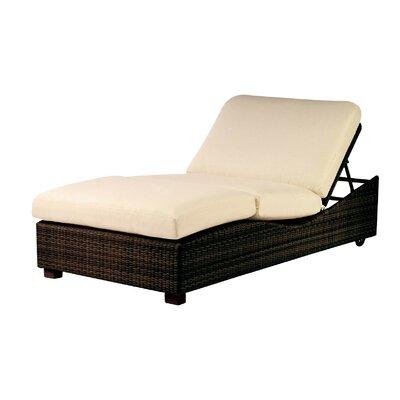 Saddleback Montecito Double Chaise Lounge with Cushion