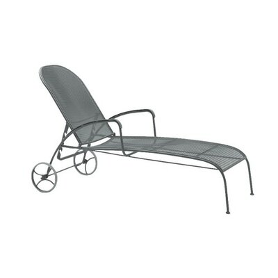 Valencia Adjustable Chaise Lounge Finish: Graphite