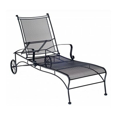 Bradford Chaise Lounge Finish: Textured Black
