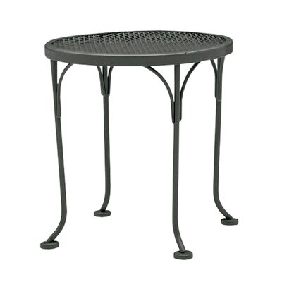Briarwood Round Occasional Side Table Finish: Hammered Pewter