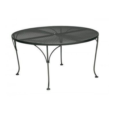 Mesh Top Round Chat Dining Table Finish: Black